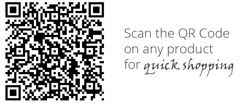 By Valenti on your iPhone - QR Bar Codes on all our Product Labels