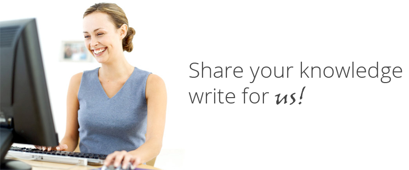 Share your knowledge write for us!