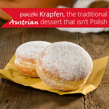 Paczki no, Krapfen the original Austrian Carnival Street Food