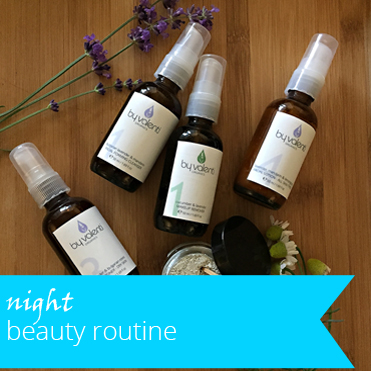 Makeup Removal, Toning and Moisturizing. The 3 most important steps in your night beauty routine.